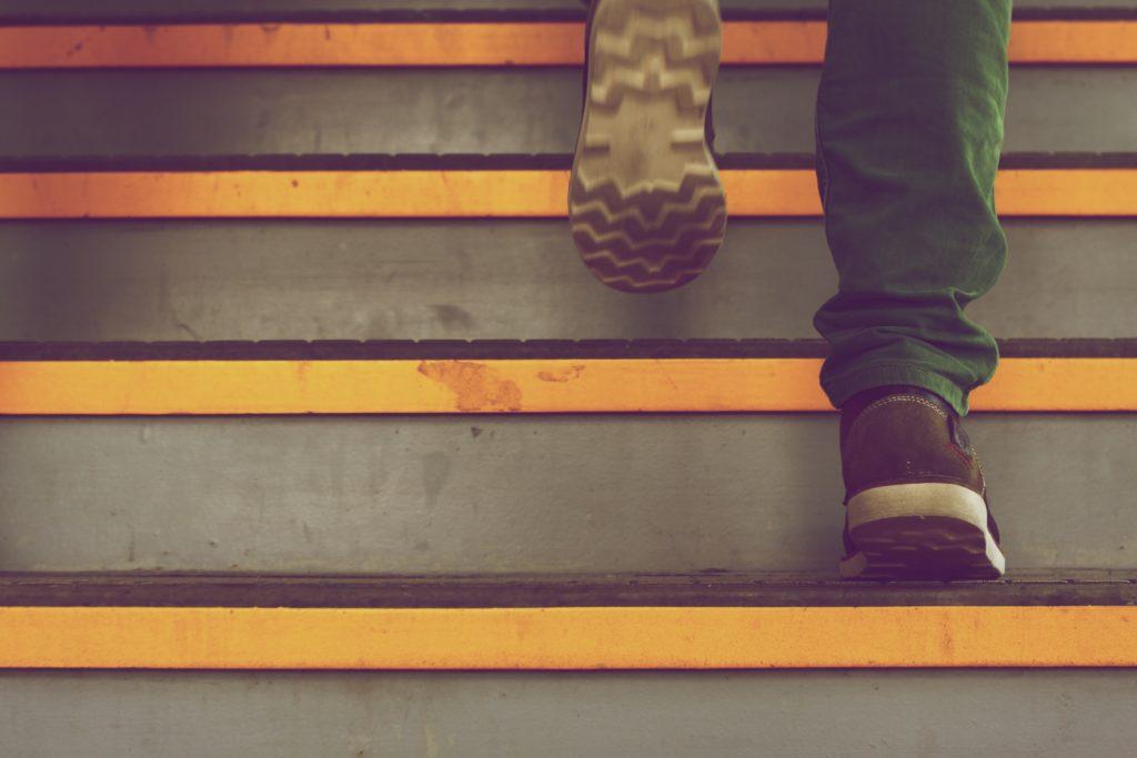階段 ステップアップ キャリアアップ
